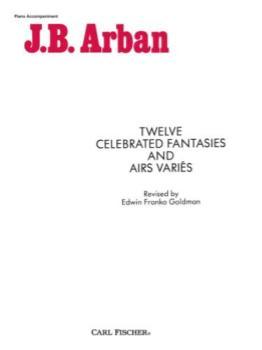 Twelve Celebrated Fantasies and Airs Varies