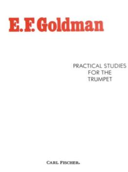 Practical Studies For The Trumpet [trumpet] Goldman TRUMP MTH