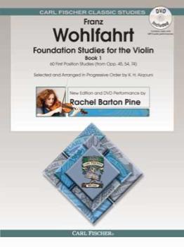 Foundation Studies for the Violin Bk. 1 w/DVD