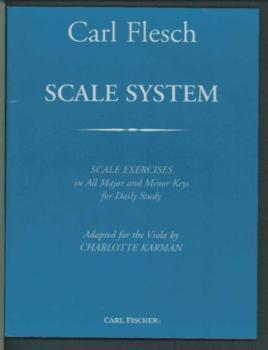 Carl Flesch Scale System - Viola