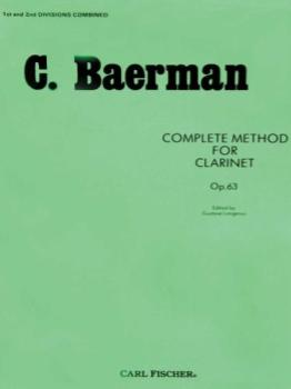 Baerman Complete Method for Clarinet, Op. 63