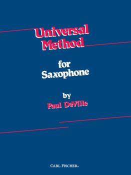 Universal Method for Saxophone (spiral bound)