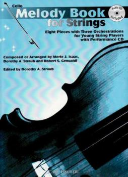 Melody Book for Strings w/CD - Cello