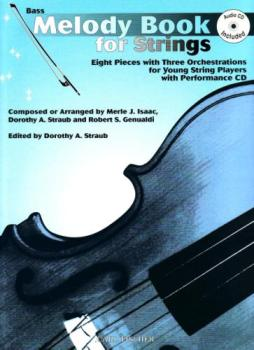Melody Book for Strings w/CD - Bass