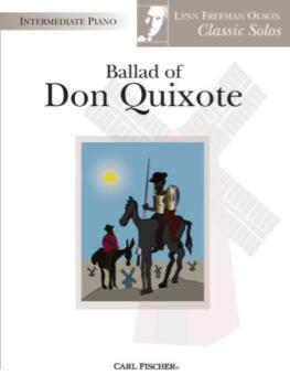 Ballad Of Don Quixote IMTA-C PIANO