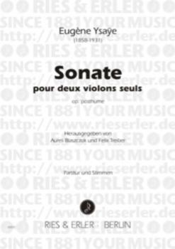 Ysaye - Sonata 2 Violins