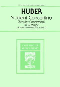 Huber - Student Concertino, G Major, Op 6 No 2