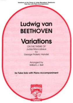 BEETHOVEN - Variations on the Theme of Judas Maccabeus for Tuba & Piano