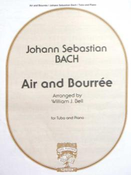 BACH - Air and Bourree for Tuba & Piano