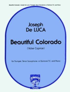 DE LUCA - Beautiful Colorado (treble clef edition)
