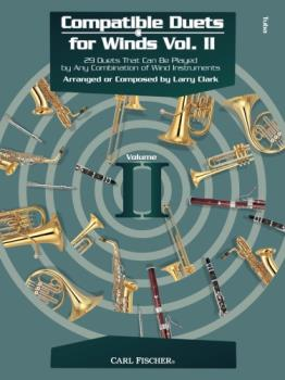 Carl Fischer Larry Clark, Giusepp Clark L  Compatible Duets for Winds Volume 2 - Tuba