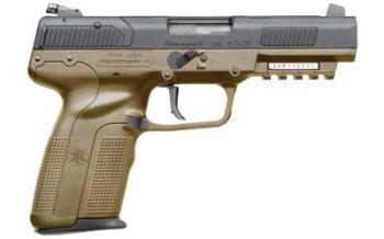 FN 3868929350 FIVE SEVEN 5.7X28MM 20RD FDE