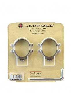49915 LEUP DD RINGS LOW MATTE