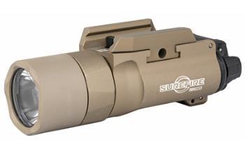 Surefire X300U-B-TN X300U-B TAN 1000 Lumen LED weapon mounted light