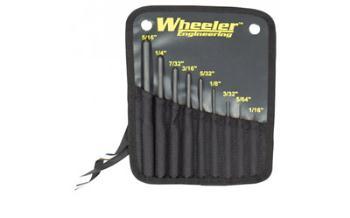 Wheeler 204513 Roll Pin Punch Set 9 Piece