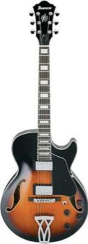 IBANEZ AG Series Hollow Guitar Brown Sunburst Brown Sunburst