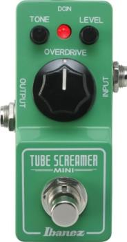 Ibanez TSMINI Tube Screamer Mini Overdrive Pedal