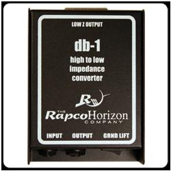 RapcoHorizon DB-1 Passive Direct Box