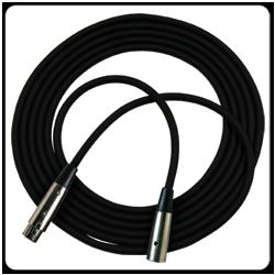 Rapco NM1-3 3' Stage Series Microphone Cable Neutrik