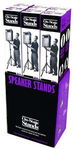 On-Stage Stands SS7730B Classic Speaker Stand (Floor Display Kit)