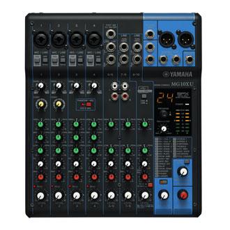 Yamaha MG10XU 10 Input Stereo Mixer, USB Interf. w/ Comp. and FX