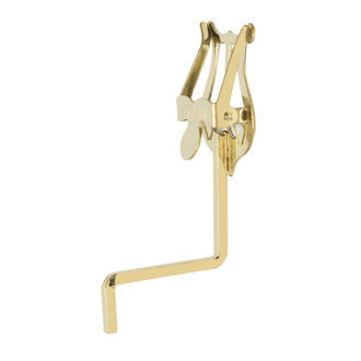 Yamaha Saxophone Lyre Thick Stem - Gold Lacquer