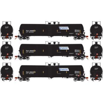 Athearn RTR 30,000-Gal Tank, TILX/Renewable Prod #3 (3)