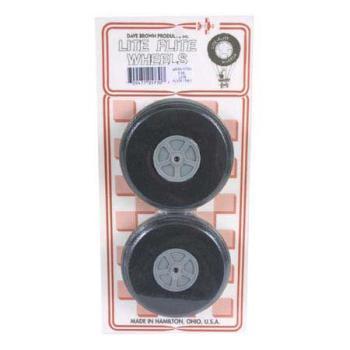 Dave Brown Prod DAV5722 WR22 Treaded Lite Wheel 2-1/4