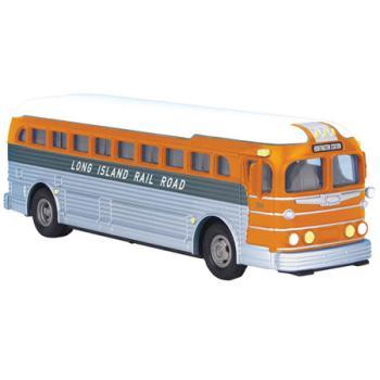 Railking Die-Cast Bus, Long Island RR, 30-50064