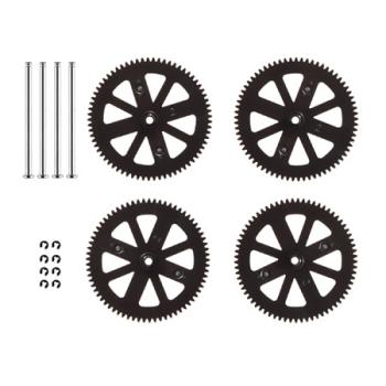 AR. Drone Gears And Shaft:Drone 1, 2