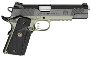 "Springfield Armory PX9105ML18 1911 Loaded Operator 45 ACP 5"" 7+1 OD Green Armory"