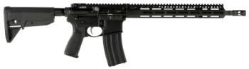 """BCM - Bravo Company Manufacturing 780750 RECCE-14 MCMR 223 Rem,5.56x45mm NATO 14.50"""" 30+1 Black Hard Coat Anod"""