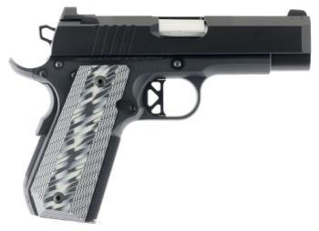 "CZ-USA 01884 Enhanced Commander ECP 9mm Luger 4"" Bull Barrel 9+1 Black Tapered G10 G"