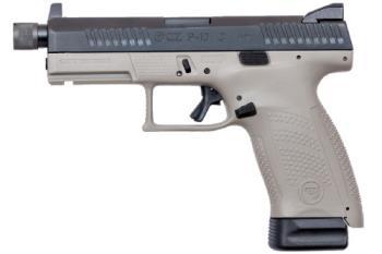 "CZ-USA 91534 P-10 C Suppressor Ready 9mm Luger 4.61"" 17+1 Urban Gray Polymer Grip"