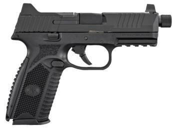 "FN 66-100375 509 Tactical 9mm Luger 4.50""  Black Interchangeable Backstrap"