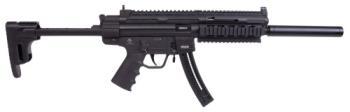 "ATI - American Tactical Imports GSGGERGGSG1622 GSG-16 Carbine 22 LR 16.25"" 22+1 Black Retractable Stock"