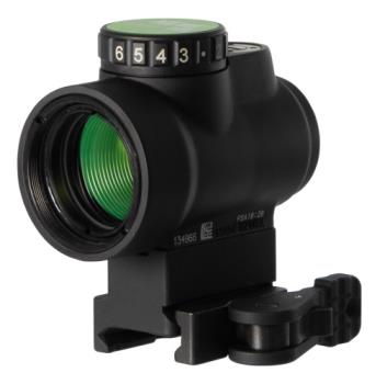 Trijicon MRO-C-2200033 MRO with Full Co-Witness Mount 1x 25mm Obj 2 MOA Green Dot Bla
