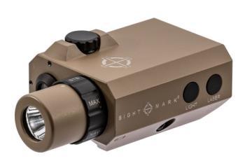 112011 Sightmark  LoPro Mini Laser/Light Combo  Green Laser Picatinny/Weaver Flat Dark