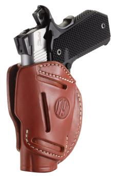 1791 Gunleather 3WH-1-CBR-A 3 Way Holster Classic Brown Size 1