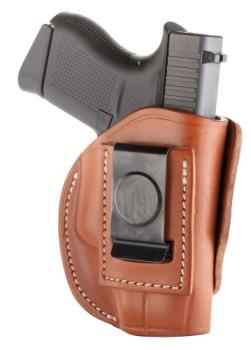 1791 Gunleather 4WH-2-CBR-R 4 Way Holster Classic Brown Right Hand Size 2 IWB/OWB