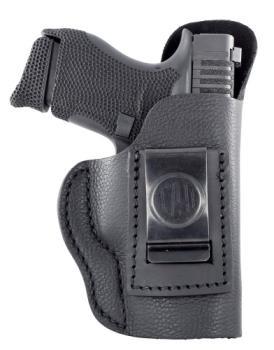 1791 Gunleather SCH-3-NSB-R 1791 Gl Smooth Black Rh Size 3
