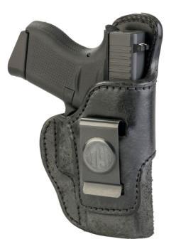 1791 Gunleather RCH-3-BLK-R Rigid Concealment IWB Right Hand Black Size 3