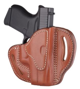 1791 Gunleather BHC-CBR-R Compact Belt Holster Classic Brown Right Hand OWB