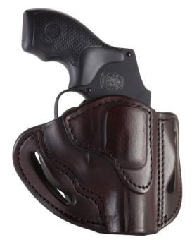 1791 Gunleather RVH-1-SBR-R 1791 Gl Leather Sig Brown Rh J Frame Revolver Holster