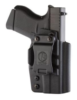 1791 Gunleather TAC-IWB-GLOCK43-BLK-R Kydex IWB holster Glock 43 Right Hand Black