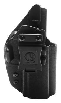 1791 Gunleather TAC-IWB-P320-BLK-R 1791 Kydex Holster For Sig P320 model pistols IWB Black Right Hand