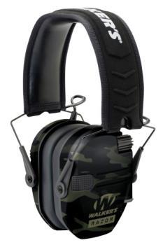 Walkers GWP-RSEM-MCCG Razor Slim Electronic Ear Muffs Multicam Black 2 AAA bat