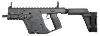 """Kriss USA KV90-PSBBL31 Pistol with brace 9mm 6.5"""" Folding 17rd Black"""