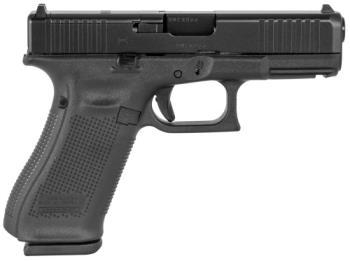 "GLOCK PA455S201MOS 45 Gen5 Compact MOS 9mm Luger 4.02"" 10+1 Black nDLC Steel w/"