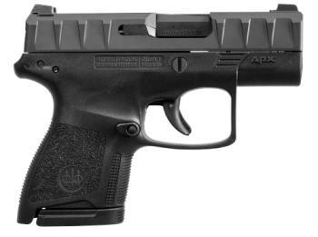 "Beretta JAXN9220 APX Carry 9mm Luger 3"" 6+1,8+1 Matte Blued Steel Slide Blac"